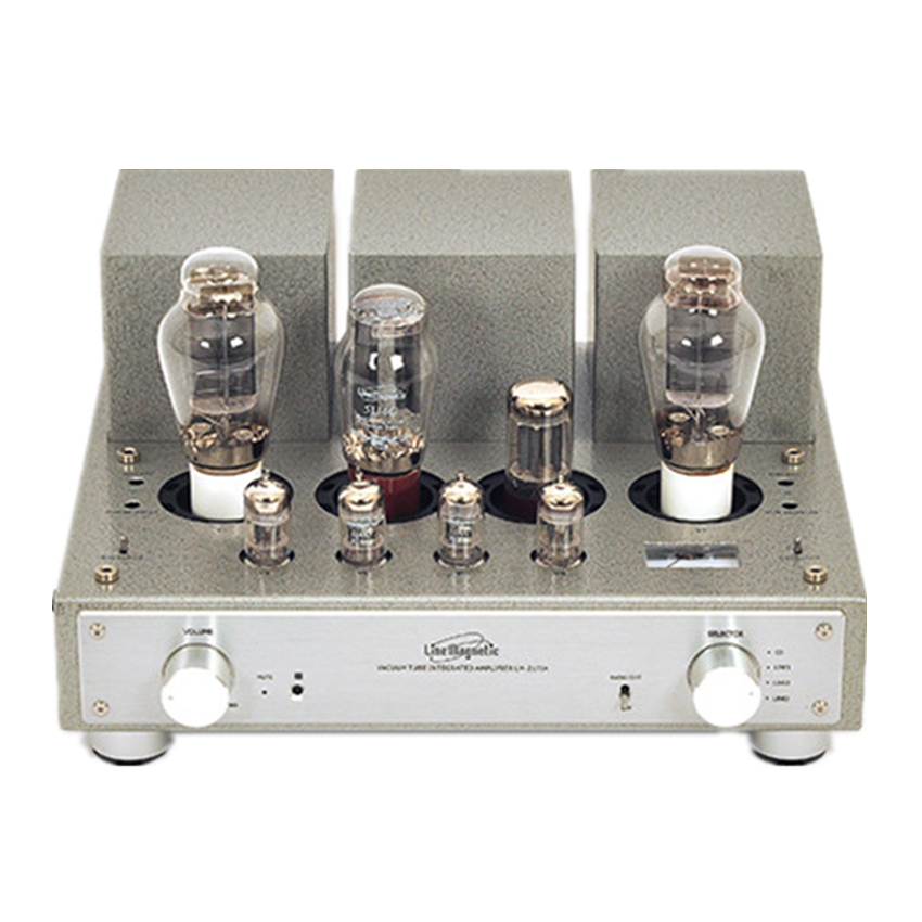K-029 Line Tube Magnetic Amplifier LM-217IA Integrated 300B*2 Single end Tube Amplifier 8W*2 line tube amplifier magnetic tube amplifier lm 501ia class ab1 integrated tube amplifier a kt120 4 100w 2 great power output
