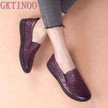 Zapatos planos de cuero genuino para mujer, mocasines modernos, bailarinas planas hechas a mano, planos para embarazadas, informales