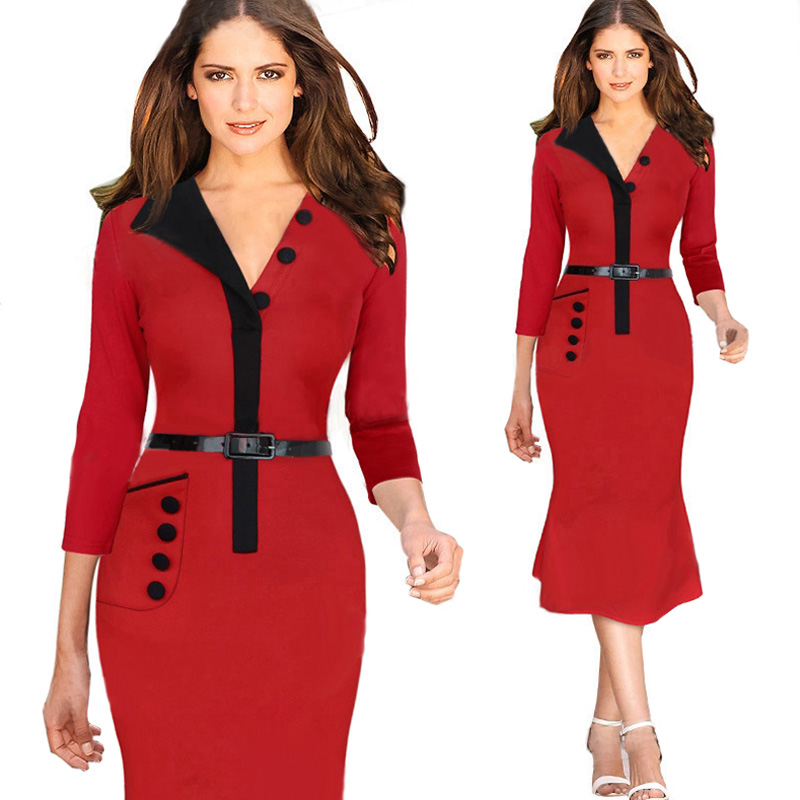 Popular Red Winter Dresses-Buy Cheap Red Winter Dresses lots from ...