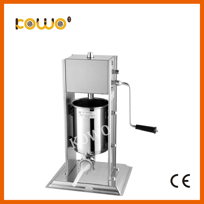 High quality stainless steel vertical manual sausage filler sausage stuffer sausage making machine ham making machine 3L stainless steel vertical commercial horizontal sausage stuffer filler machine manual 3l enema machine sausage filler