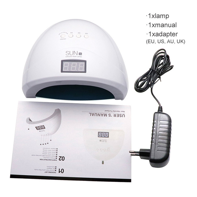 Nails UV Nail Dryer Lamp UVLED 48W SUNONE1s Manicure UV Lamp For Manicure Gel Varnish Drying For Nail Gel Polish Curing 3