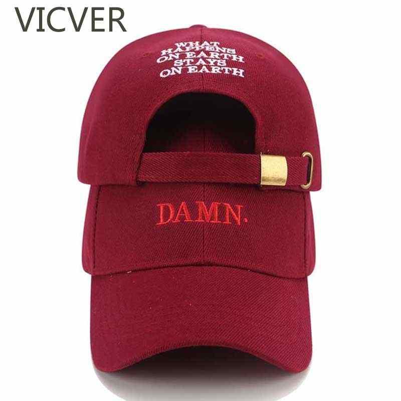 b82841cab89 DAMN Kendrick Lamar Baseball Cap Rapper Dad Hat Snapback Hip Hop Men Caps  Adjustable Casual Women