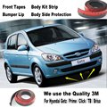 Car Bumper Lips For Hyundai Getz / Prime / Click / TB / Brisa Inokom / Body Kit Strip / Front Tapes Body Chassis Side Protection