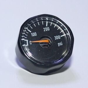 Image 5 - Paintball, manomètre à Air comprimé PCP, avec Mini manomètre, 350 bars, 300psi, 1500psi, 3000psi, 5000psi, 6000psi, 1/8npt, nouveauté