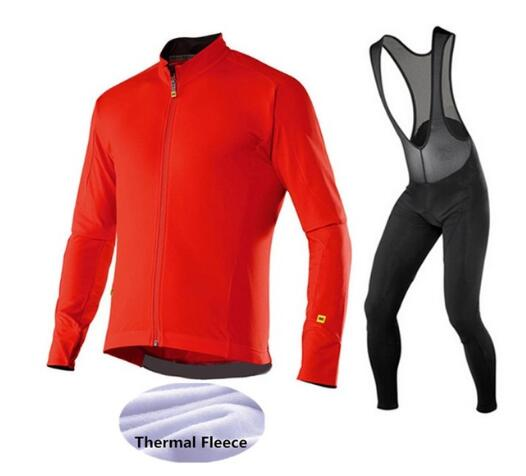 MAVIC 2017 cycling winter set men clothing fleece thermal pro cycling jersey bike clothes mtb ropa ciclismo invierno maillot fualrny 2018 winter fleeced thermal cycling clothing set racing bike sportswear maillot ropa ciclismo invierno bicycle jersey