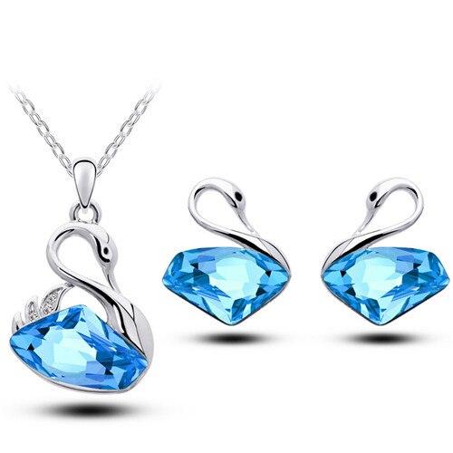 Ax Shape Austrian Crystal...