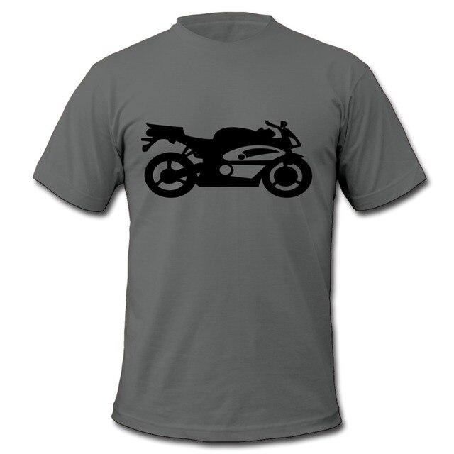Kasual Mans T Sepeda Motor Kualitas Tinggi Vektor Gambar Keren Shirt