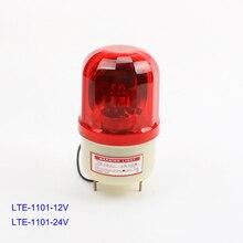 DMWD DC12V/24V DC110V/220V Red Yellow Green Blue Rotating Warning Light Lamp for Industrial LTE-1101 indicator light