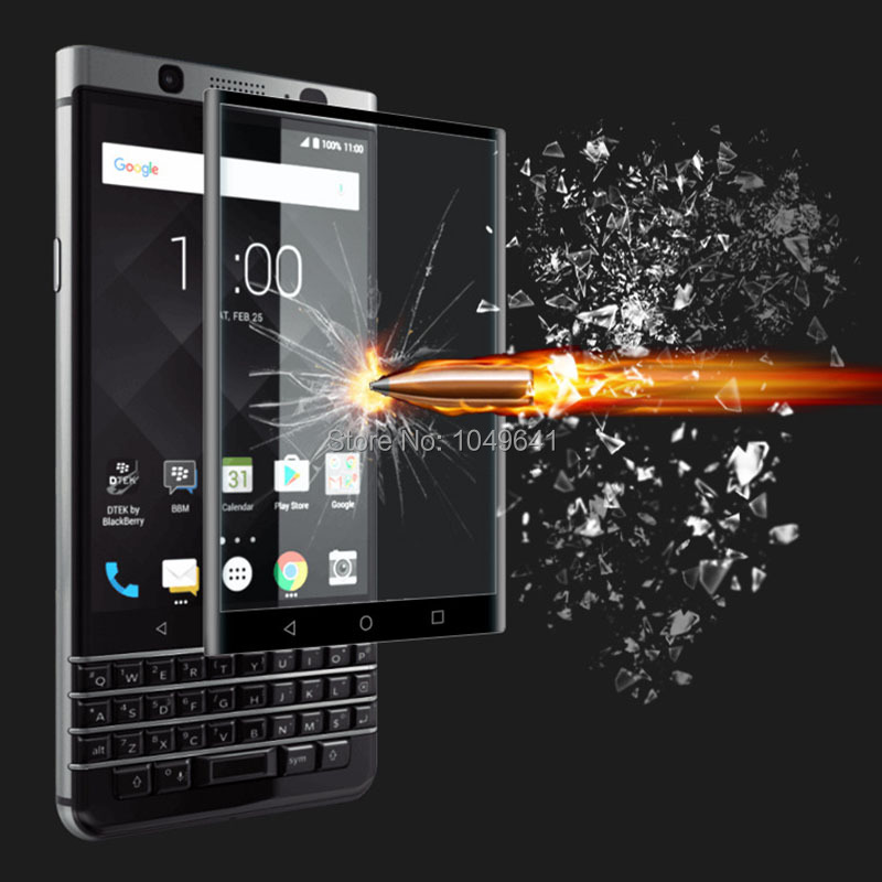3D Screen Protector for Blackberry Keyone Mercury DTEK70 Tempered Glass LCD Guard High Quality Full Screen Cover 9H Hardness(China)