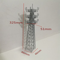 1pc/lot ho n z scale Model tower Building for Scenery Sand Railroad Railing Train layout