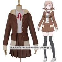 Danganronpa 3 Side: Despair Nanami ChiaKi School Uniform Cosplay Costume