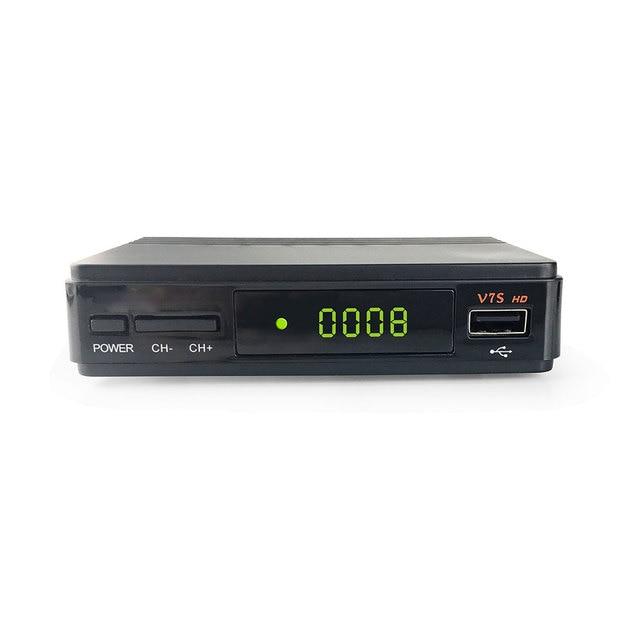 V7S HD DVB-S2 Receptor Satellite TV Receiver Decoder+USB WIFI Receptor 1 year Europe 5 cline PK V7 HD Receiver