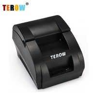 Mini imprimante thermique portative de reçu de position de 58mm de TR-5890K avec le Port d'usb pour la vente AU détail commerciale