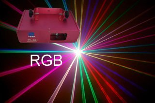 270mW Full Color Laser Light DMX Sound Auto DJ Disco Club Party Stage Light