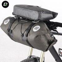Rockbros Bike Bag Waterproof Bicycle Bag High Capacity Mountain Road Bike Handlebar Bag Cycling Front Panniers Bags Accessories