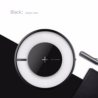 Nilkin for iPhone X 8 Plus Wireless Charger NILLKIN Magic Disk 4 Fast QI Wireless Charging Pad for Samsung S9 S8 Plus S7 Note 8