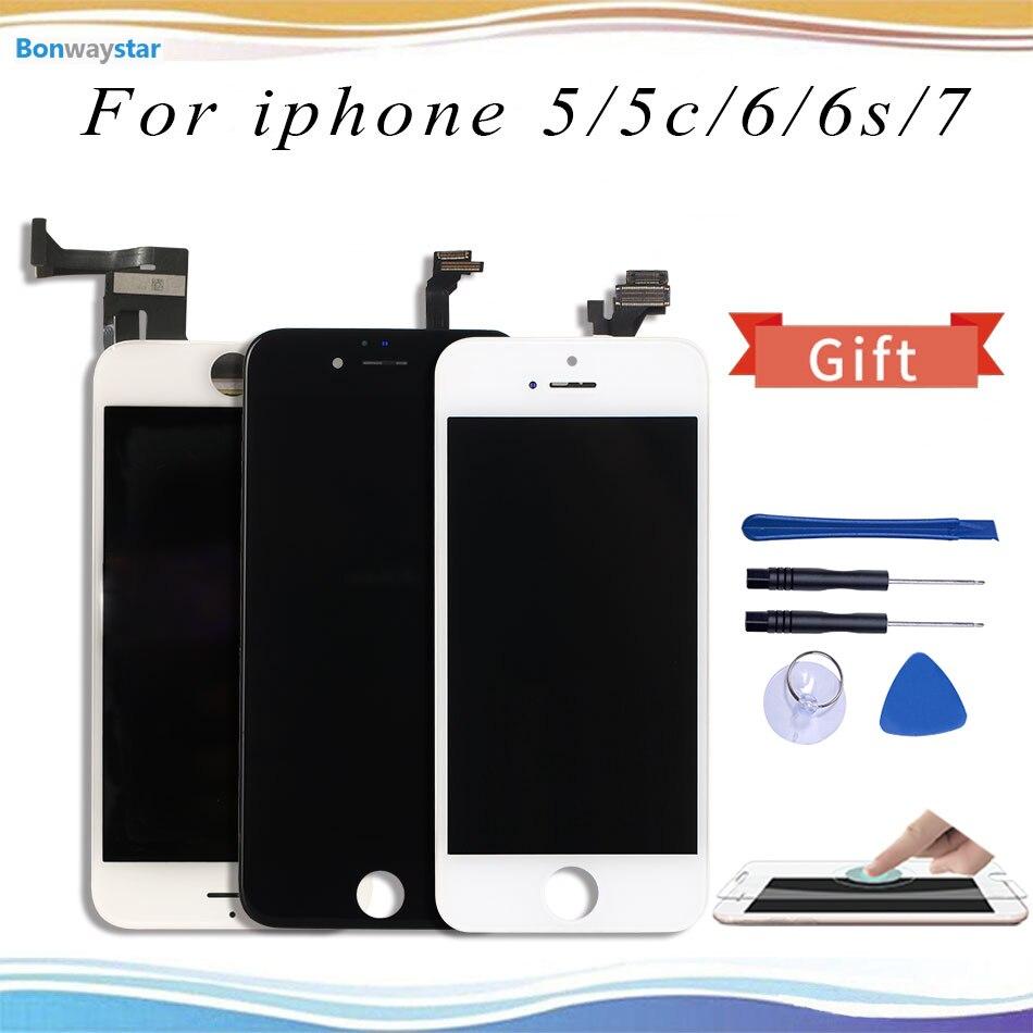 4 7 3D сенсорный дигитайзер ЖК экран сменный дисплей для iPhone 6 6S iPhone6 iPhone6S iPhone7|Экраны