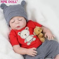 Original NPKDOLL Bebes Reborn De Silicone Real Viny Dolls Reborn Boy Babies Baby Born Dolls Realistic