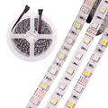 Гибкая светодиодная лента, 12 В постоянного тока, 5 м, 5050 RGB,RGBW,RGBWW, 60 светодиодов/м, 5050 Светодиодная лента RGB, белый, теплый белый, красный, синий, ...