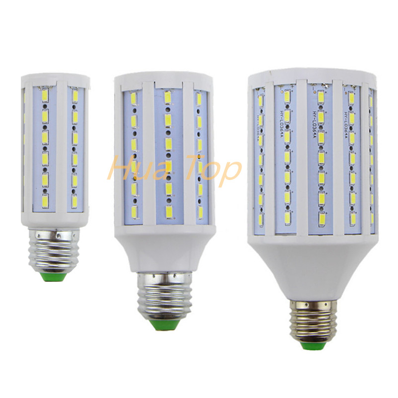 Lampada Led Lamp E27 E14 B22 110~130V/220V 12W 15W 30W Epistar Smd 5730 Solsr Corn Light Bulb Led Bulbs&Tubes Lumen 1200~3000LM