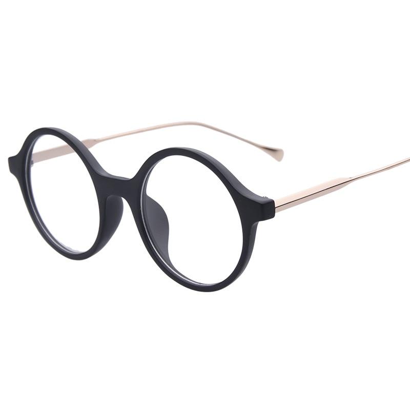 3a6da3b420f Hipster Vintage Round Eyewear Frames Optical Myopia Clear Lens Glasses  Frame Female Fashion Spectacle Frame Eyeglasses Women Men-in Eyewear Frames  from ...