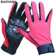 BACHASH Professional Solid Crossfit Men Fashion Gloves Women And Men Skid Mesh Mountain Mittens Luvas Academia S-XL 2018