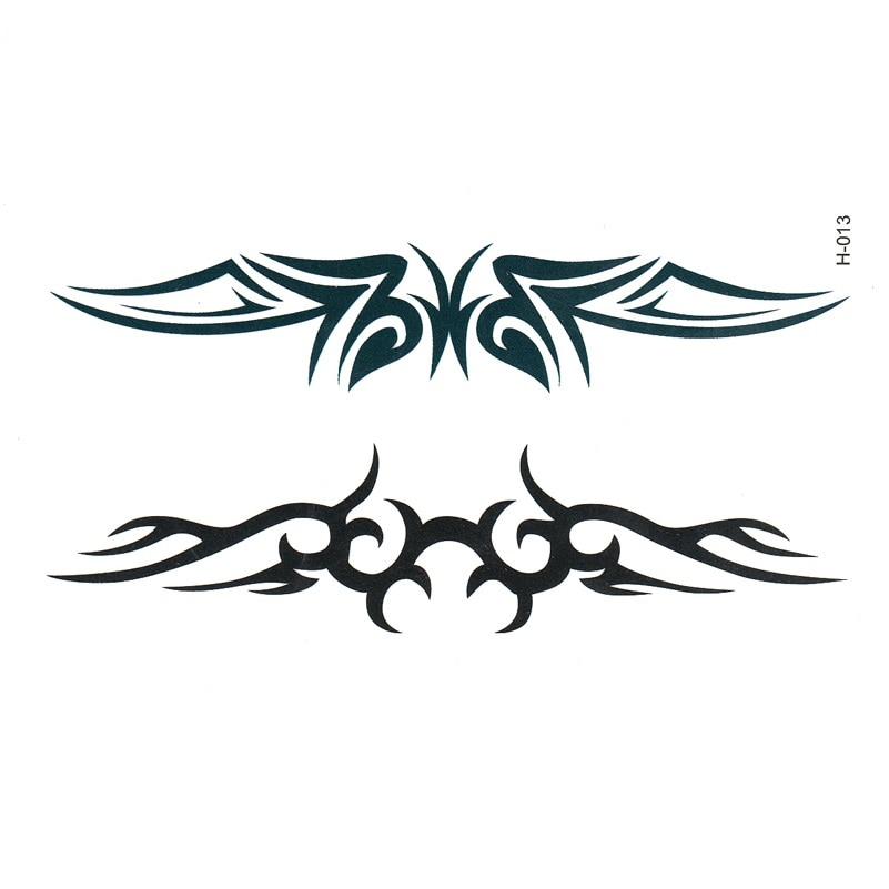 Tattoo Ink Black Henna Para Sobrancelha Kit De Tatuagem Cute Adesivo De Parede Espelhado Tatoo Temporary Stickers Tatuajes Tatto