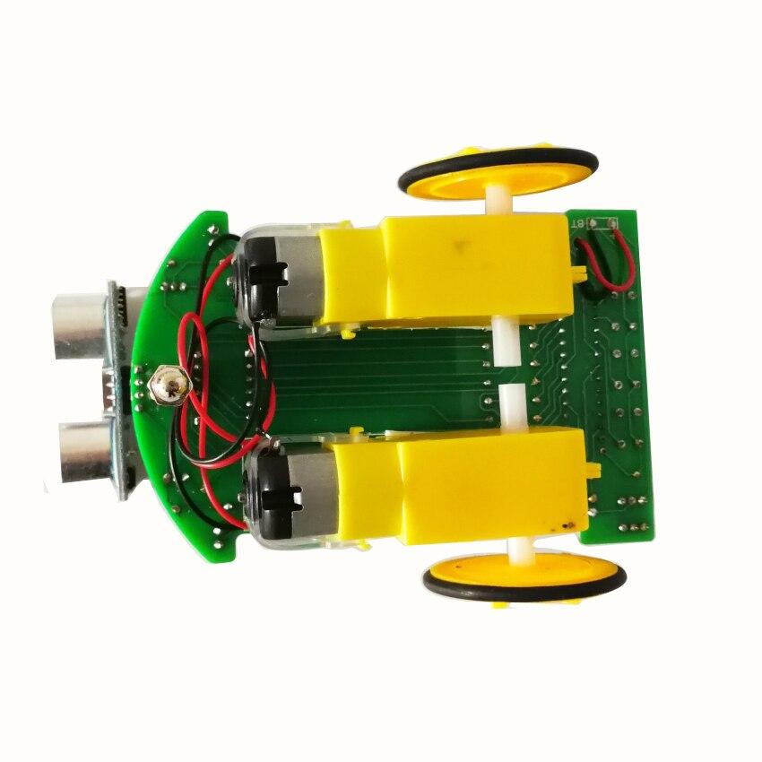 D2-4 Intelligent Ultrasonic Ranging Car Kits Module Electronic Production DIY