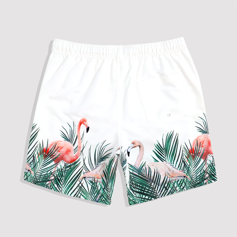 2018 New arrival mens beach shorts swimsuit couple high quality quick drying swimwear trunks beach shorts swimwear men swimsuit