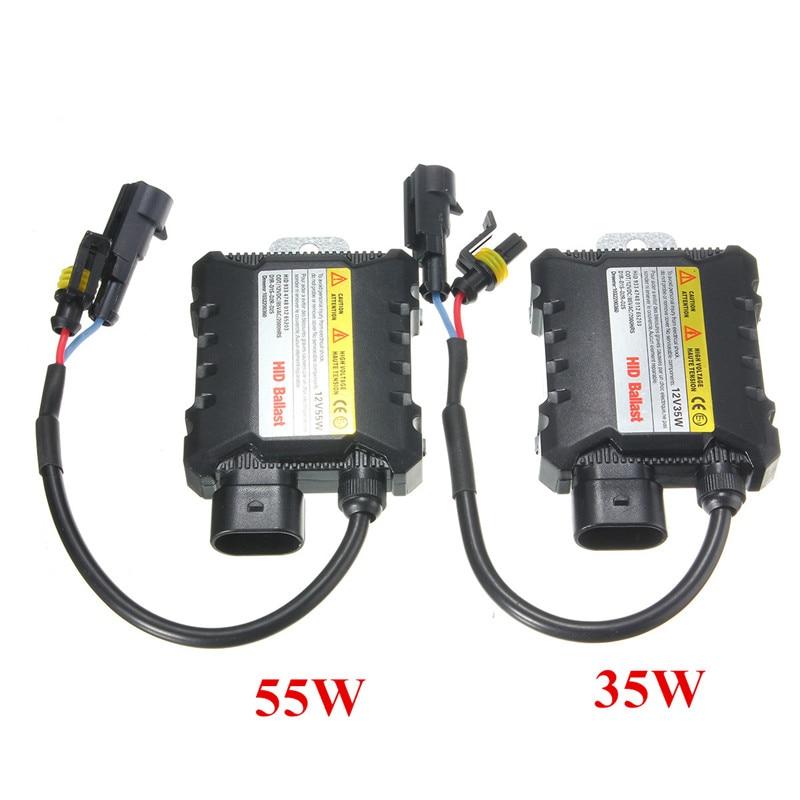 35W/55W Universal Xenon For HID Replacement Conversion Kit Digital Ballast DC12V ecar e4035 can bus universal replacement 35w hid ballast dc 9 16v