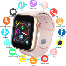 Z6 Fitness Bluetooth Smart Watch Supports Android Phone SIM Card Camera Touch Screen Support SIM TF Card Sports Clock Kids Watch недорого