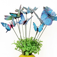 Creative Double Layer Simulation Butterfly Inserts Decorate Your Home Gardening Vases Decorative Wedding Decoration