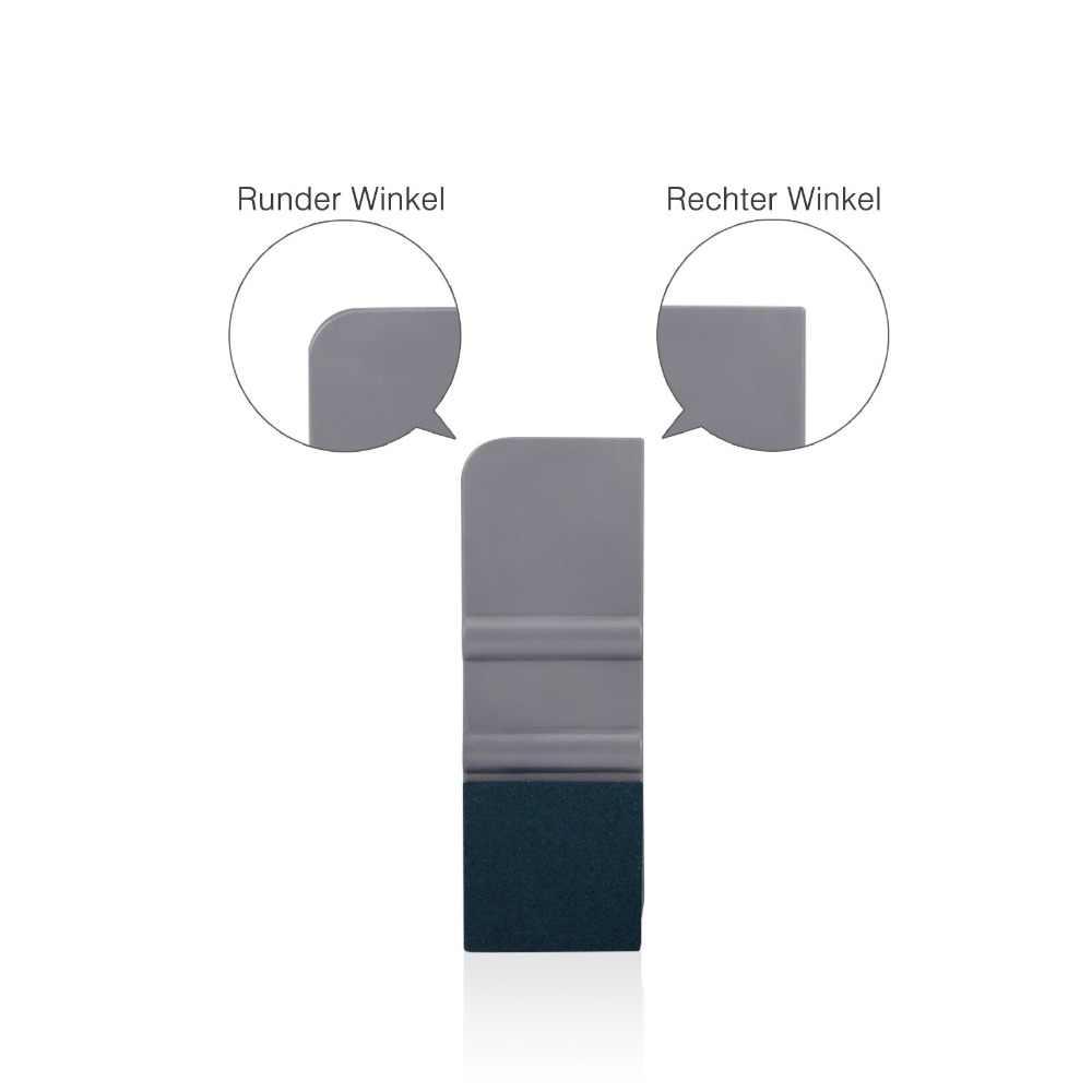EHDIS รถไวนิลคาร์บอนฟอยล์ฟิล์ม Auto หนังนิ่มคู่ Felt Squeegee Scraper หน้าต่าง Tints เครื่องมือจัดแต่งทรงผมสติกเกอร์อุปกรณ์เสริม