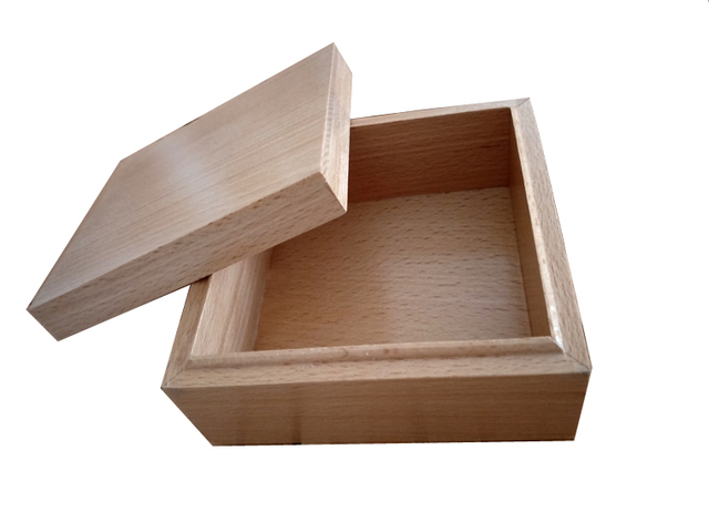 Aliexpress buy nice beech wood box all parts made by