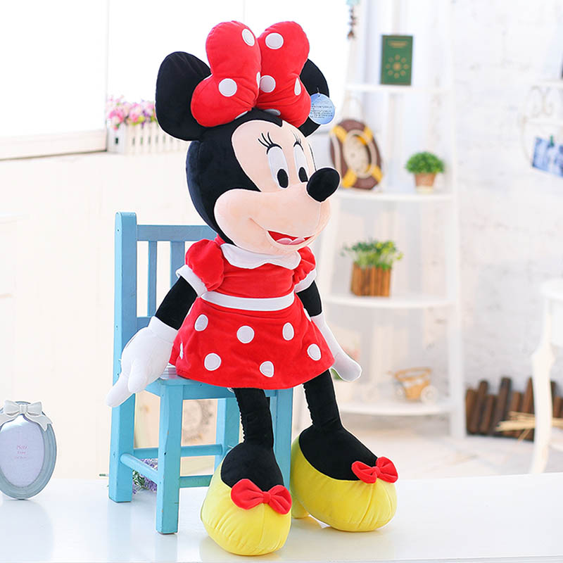 45cm genuine Aoger Mickey mouse Minnie doll plush toys for birthday gifts