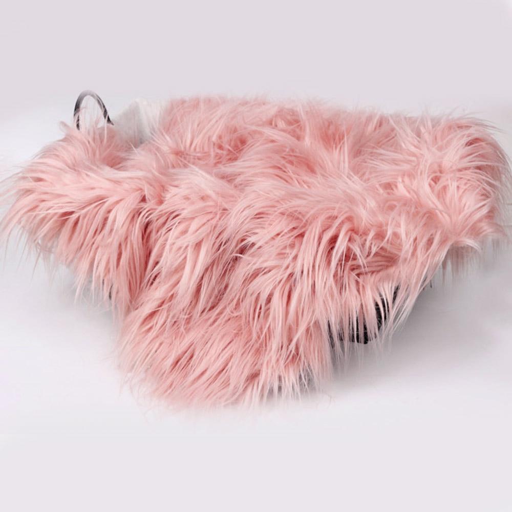 Детское покрывало для фото, детское одеяло для фотосъемки, шерстяное одеяло, Круглый юбилей, день рождения, для мобильного телефона, элегантное Bebe - Цвет: pink