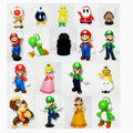 2017 venta como las tortas calientes Súper Mary figura de acción 18 plástico super Mario muñeca de las manos para hacer 3.5 cm-5.5 cm Super Mario hermanos