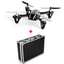 Free Shipping Upgraded Hubsan X4 V2 H107L RC Toys Airplane Quadcopter W Hard Carrying Case Box