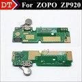 New Mirco USB Plug conector do Microfone com Vibrador Reparação de motores Para ZOPO ZP920 Placa de Carga de telefone Celular Frete Grátis