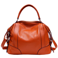 GENMEO New Arrival Genuine Leather Women Bags Female Luxury Handbag with Shoulder Strap Bolsa Feminina