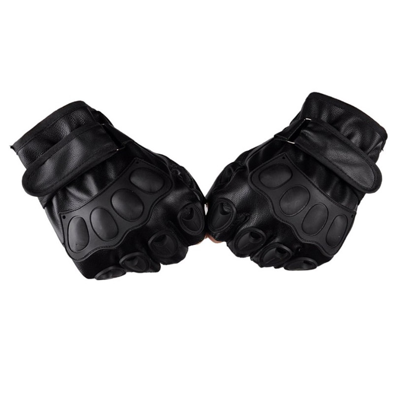 LESHP-Half-Finger-Gloves-PU-Leather-Men-Gloves-For-Tactical-Military-Exercise-Training-Sports-Motorcycle-Ridding (1)