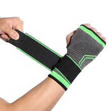 Kyncilor wrist guard for outdoor sports pressure protection wristband knitted adult weight lifting fitness