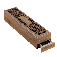 Ароматическая горелка подставка для ароматических палочек с ящиком Joss-Stick Box полый ароматерапия Zen лежа курильница для дома и офиса Чайный домик