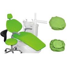 4 шт. стоматологическое кресло из искусственной кожи, чехол для сиденья, стоматологическое оборудование, эластичные чехлы на кресла, водонепроницаемый защитный чехол