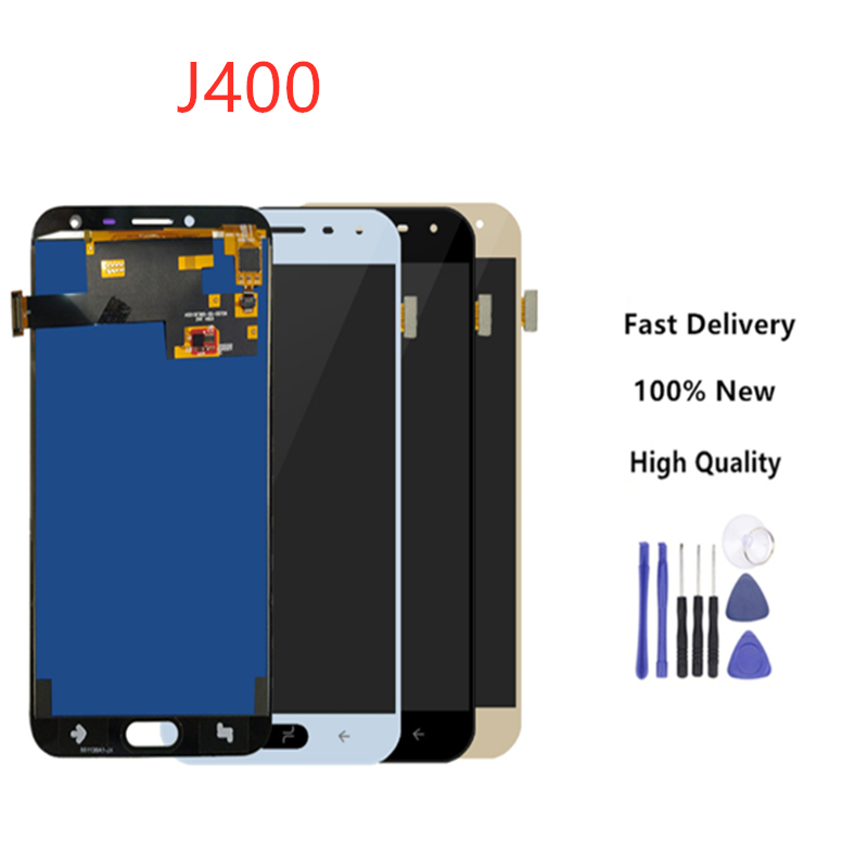 High Quaity For Samsung Galaxy J4 2018 J400 J400F J400H J400P J400M J400G/DS LCD Display Touch Screen Panel Digitizer+Tools
