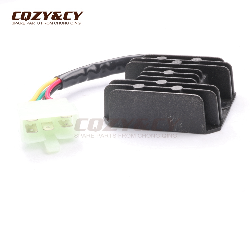voltage regulator rectifier 5 wires 5 pin 12v for kymco agility 2t rh  aliexpress com