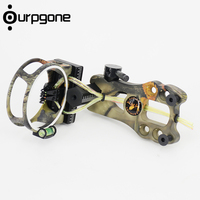 Ourpgone Brand 1*Outdoor Hunting Recurve Bow Sight Kits Aluminum Compound Bow TP1000 Archery Arrow Bow Combo Kits Free shipping!