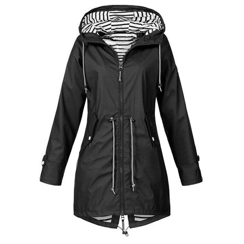 LASPERAL 2019 Women Jacket Coat Waterproof  Transition Jacket Outdoor Hiking Clothes Lightweight Raincoat Women's Raincoat