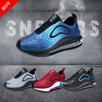 2019 Luxury Brand Sneakers Max 720 Mens Sneakers Casual Shoes Men Soft Air Mesh Breathable Sports 2019 Fashion Walking Sneakers