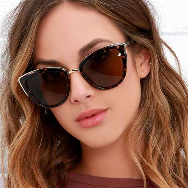 83ef0d118696 ... Luxury Cat Eye Sunglasses Woman Australia Fashion Brand Tortoiseshell  Sun Glasses Female Designer Brown Sunglasses Oculos ...